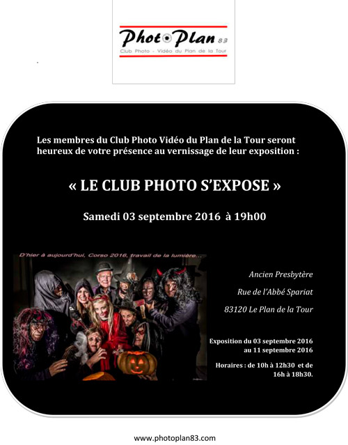 2016 09 03 Invitation Vernissage